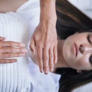 Reiki Healing Session With Teenage Girl
